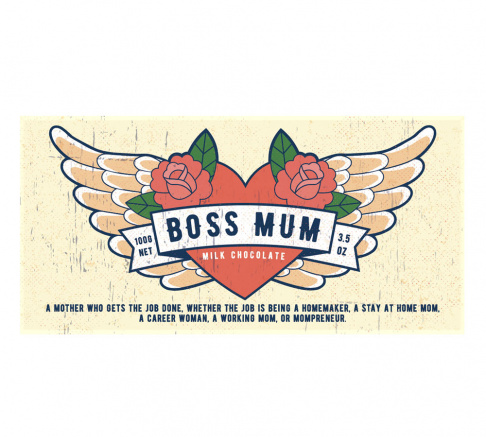 Bloomsberry Boss Mum Milk Chocolate 100g