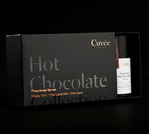 Cuvee Chocolate Hot Chocolate Collection 3 x 30g