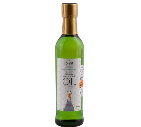 Duck Creek Cold Pressed Macadamia Oil 375ml