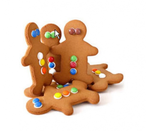 Molly Woppy Giant Gingerman Gingerbread 59g