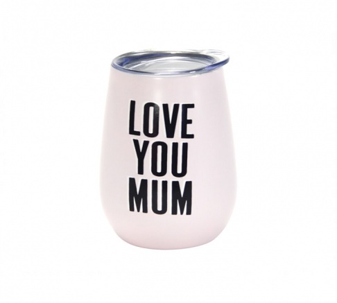 Wine Tumbler Double Walled Love You Mum