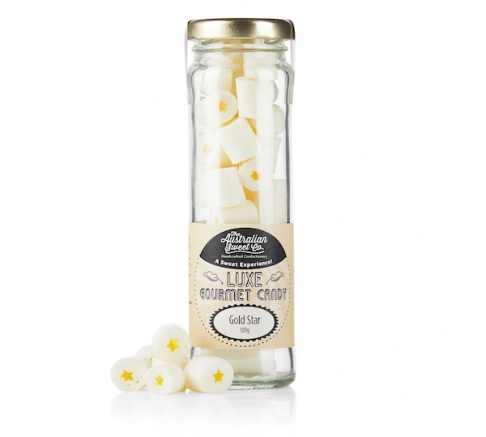 Australian Sweet Co Luxe Gold Star Candy 100g