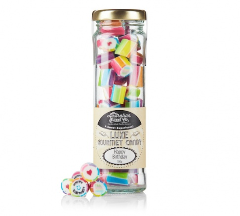 Australian Sweet Co Luxe Happy Birthday 100g