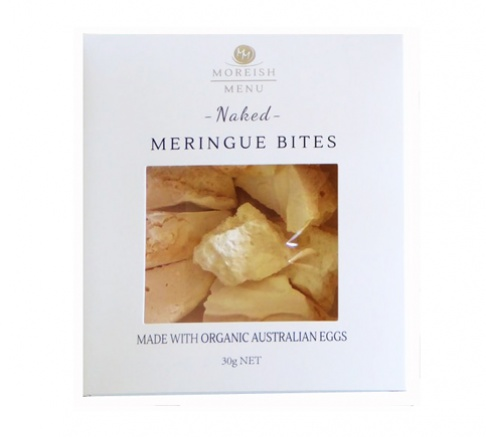 Moreish Menu Naked Meringue Bites 30g