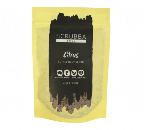 Scrubba Body Citrus Coffee Body Scrub 250g