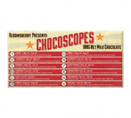 Bloomsberry Chocoscopes Milk Chocolate 100g