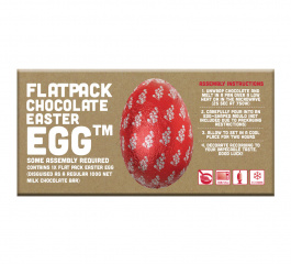 Bloomsberry Flatpack Easter Egg Milk Chocolate 100g