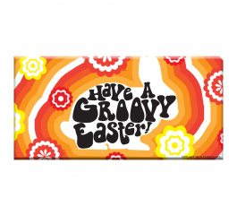 Bloomsberry Have A Groovy Easter Milk Chocolate 100g