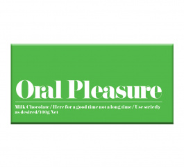 Bloomsberry Oral Pleasure Milk Chocolate 100g