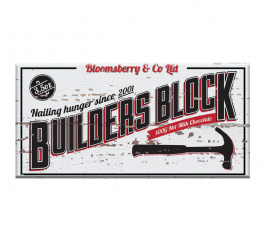 Bloomsberry Builders Block Milk Chocolate 100g