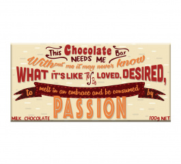 Bloomsberry Chocolate Passion Milk Chocolate 100g