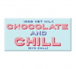 Bloomsberry Chocolate and Chill Milk Chocolate 100g