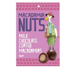 Duck Creek Milk Chocolate Macadamia Bag 50g
