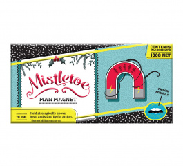 Bloomsberry Mistletoe Man Magnet Milk Chocolate 100g