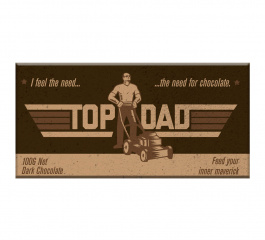Bloomsberry Top Dad Dark Chocolate 100g