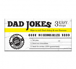 Bellaberry Dad Jokes Dark Chocolate 100g