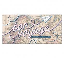 Bloomsberry Bon Voyage Map Milk Chocolate 100g