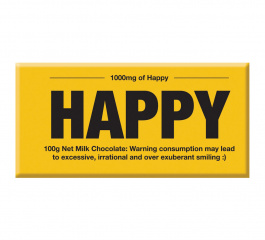 Bloomsberry Yellow 1000mg of Happy Milk Chocolate 100g