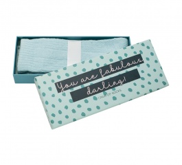 Sock Gift Box - Fabulous Darling