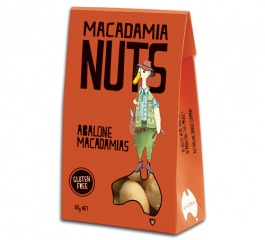 Duck Creek Macadamia Nuts Abalone 80g