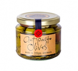 Ogilvie & Co Antipasto Olives 200g