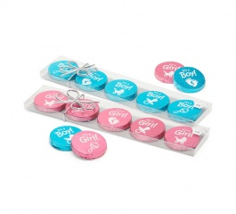 Chocolate Gems Medallions 60g - It's A Boy or It's A Girl