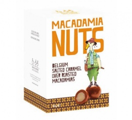 Duck Creek Belgian Salted Caramel Roasted Macadamias 180g