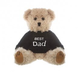 Teddy Bear with 'Best Dad' Message 20cm