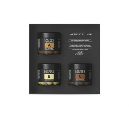 Lakrids Black Box A, B and C Gift Set 375g