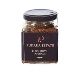 Pukara Estate Black Olive Tapenade 180g