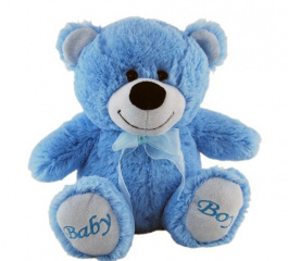 Jelly Teddy Bear - Blue Baby Boy 18cm