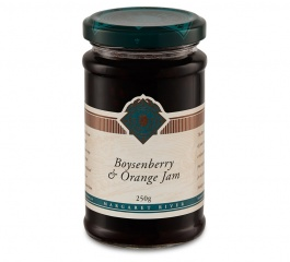 The Berry Farm Boysenberry and Orange Jam 250g