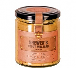Ogilvie & Co Tucker Box Brewers Stout Mustard 260g