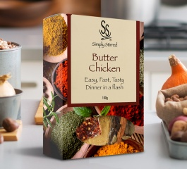 Simply Stirred Dinner Pack - Butter Chicken