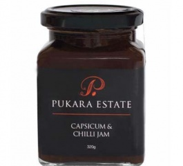 Pukara Estate Capsicum & Chilli Jam 320g