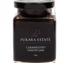 Pukara Estate Caramelised Onion Jam 330g