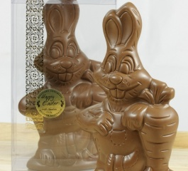 Whistlers Milk Chocolate Carrot Bunny 150g