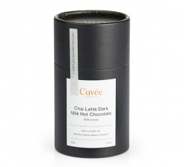 Cuvee Chocolate Chai Latte Dark Milk Hot Chocolate 150g