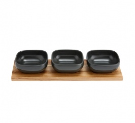 Essentials 4pc Bowl Set - Assorted Colours