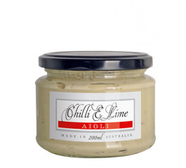 Ogilvie & Co Chilli and Lime Aioli 180g