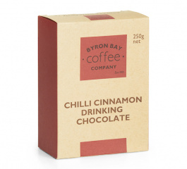 Byron Bay Chilli Cinnamon Drinking Chocolate 250g