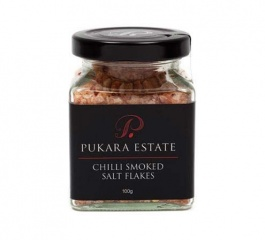 Pukara Estate Chilli Smoked Salt Flakes 100g