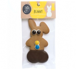 Molly Woppy Choc Dipped Gingerbread Bunny 66g