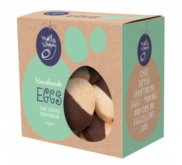 Molly Woppy Choc Dipped Shortbread Eggs Box 165g
