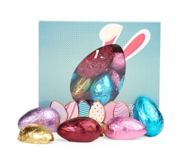 Chocolate Gems Easter Half Eggs Box 120g