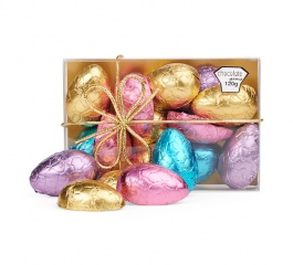 Chocolate Gems Easter Half Eggs Treats 120g