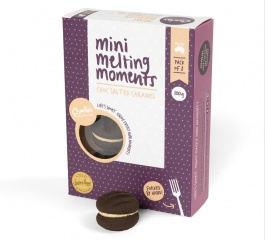 Charlie's Cookies Choc Salted Caramel Mini Melting Moments 100g
