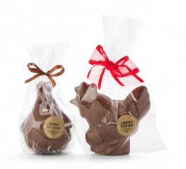Whistlers Milk Chocolate Buddy Bunny or Rooster 80g