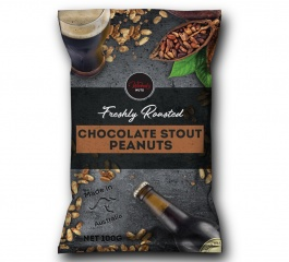 Wicked Nuts Chocolate Stout Peanuts 120g