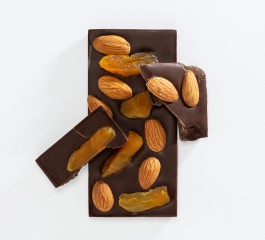 Charlotte Piper Apricot and Almond Dark Choc 50g
